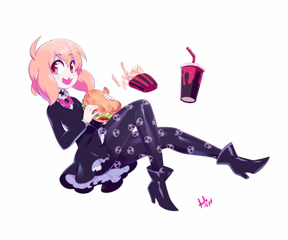 Devil Burger by KittBetelgeuse