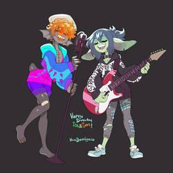 Singing Gremlins