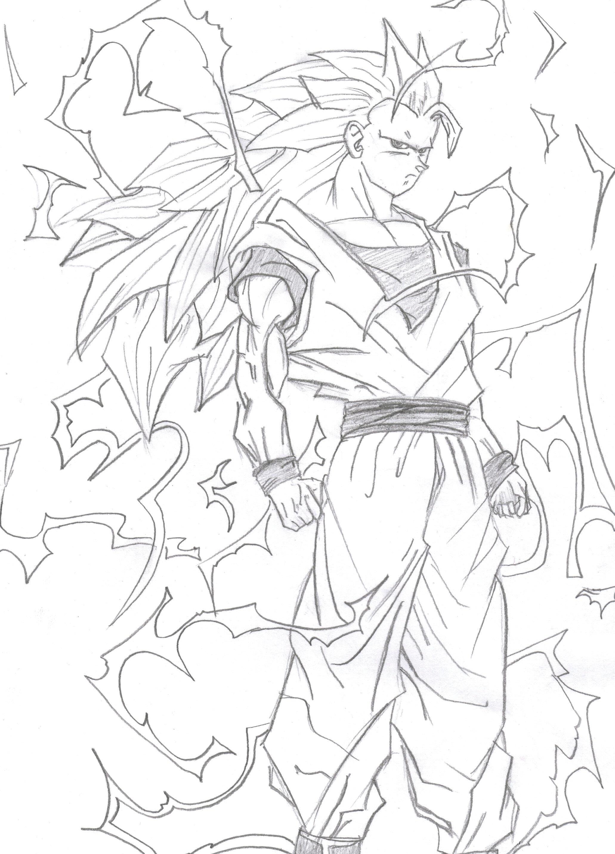 Goku Super Saiyan 3 By Willixl On Deviantart