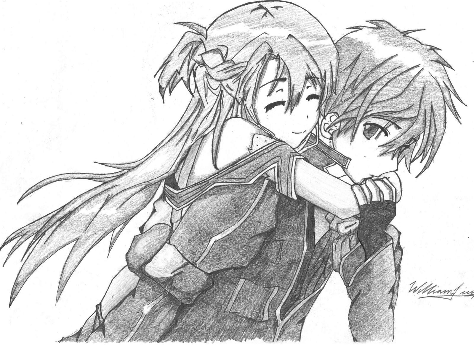 Kirito And Asuna By WilliXL On DeviantArt