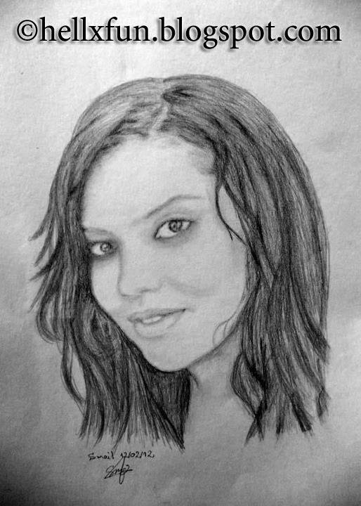 Girl portrait by hellxfun