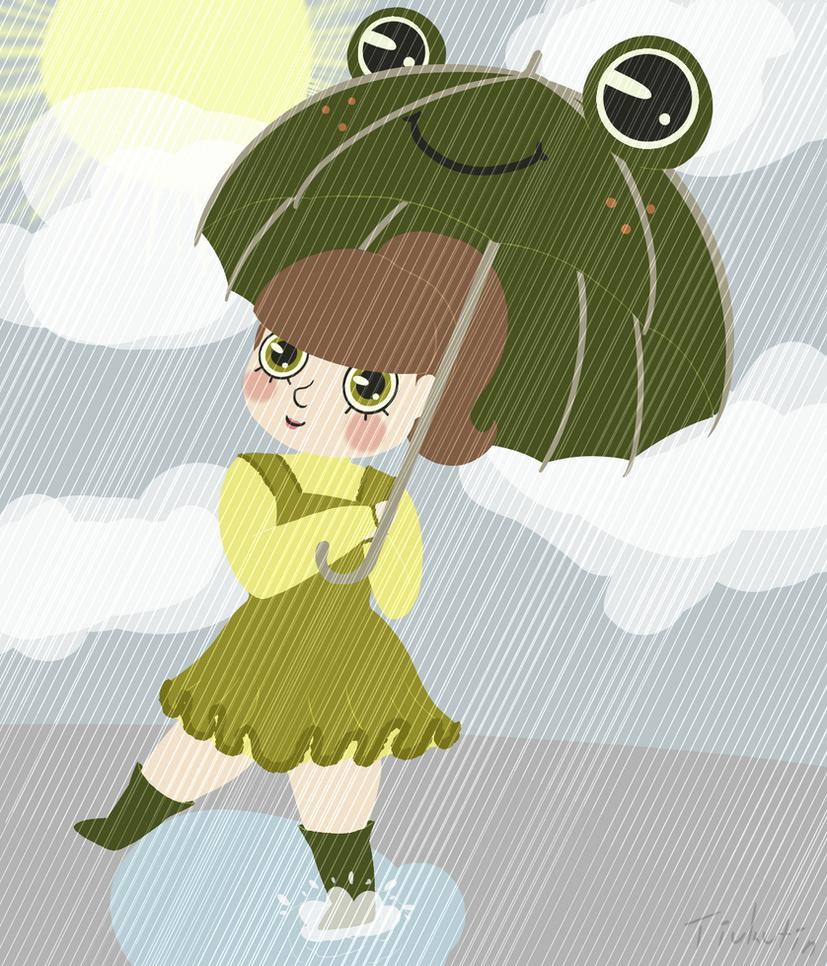 Raindrops by Tiukutin