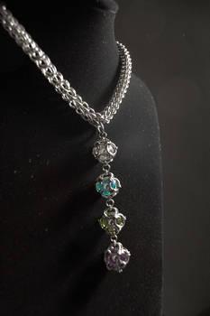 Marble Jewelry Chain closeup