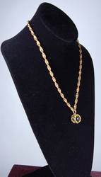 Green Marble Rope Chain Full