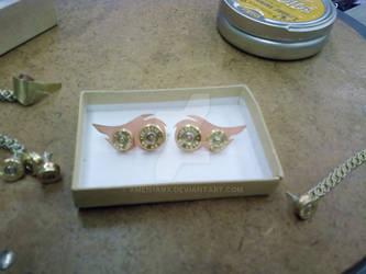 Set of Three Bullet Earrings 3