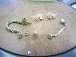 The Full Set of Bullet Earrings