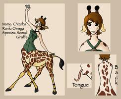 Chizoba Character Sheet by RenOfDarkness