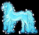 Aquamarine Stallion for Drache-Lehre
