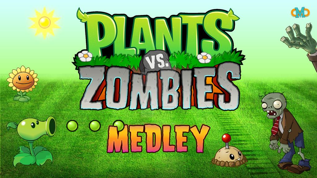 Plants Vs. Zombies [Thumbnail Example] by InfiniteMidi