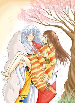 Sessho X Rin - I want flowers-