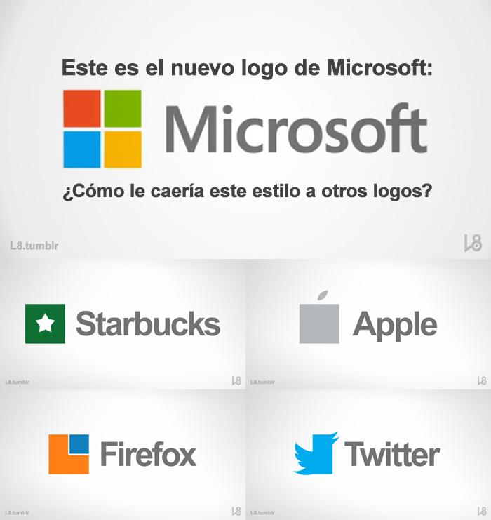 El nuevo logo de Microsoft by EleOcho