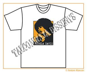 Angela Davis T-Shirt by nenet