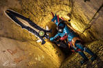 Lagiacrus X Armor Blademaster - Monster Hunter