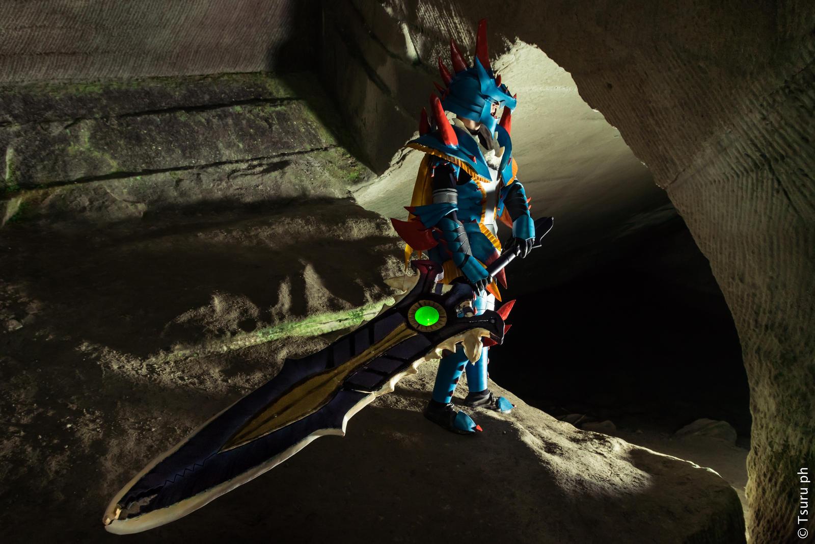 Lagiacrus X Armor Blademaster Monster Hunter By Yugencosplay On Deviantart