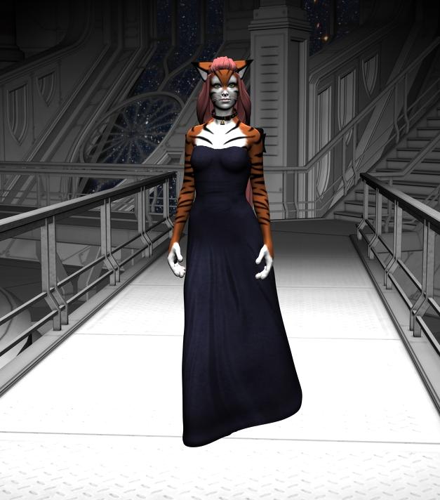 Cat Girl by Scynge
