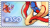 Stamp - Milotic by Evadoll