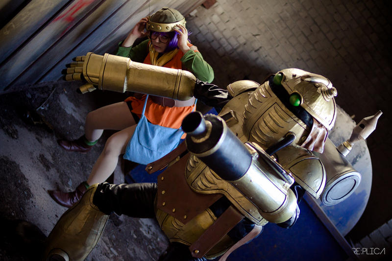 Cosplay - Robo and Lucca by Evadoll