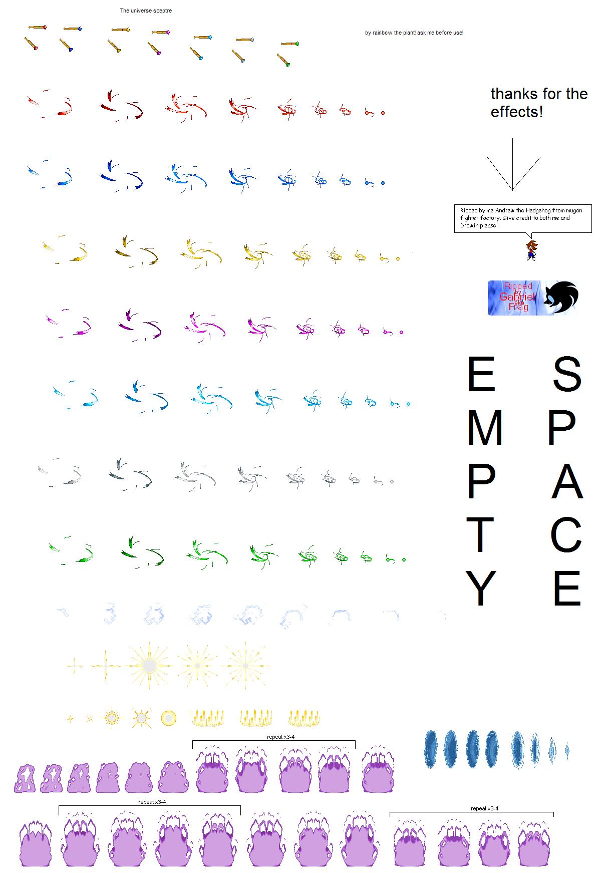 the universe sceptre by RainbowthePlant