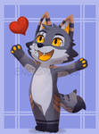 Commission - Animal Crossing Shyrdo
