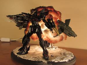 Blitz Gundam Explosion Diorama