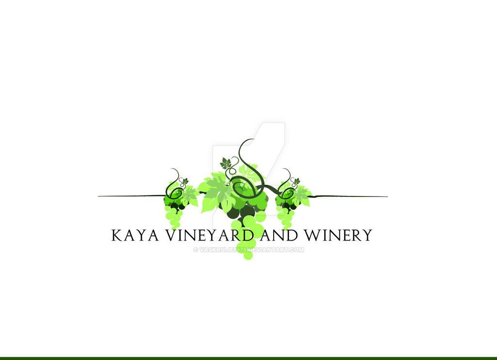 Yineyard and Winery Logo by Vaskrsije1978