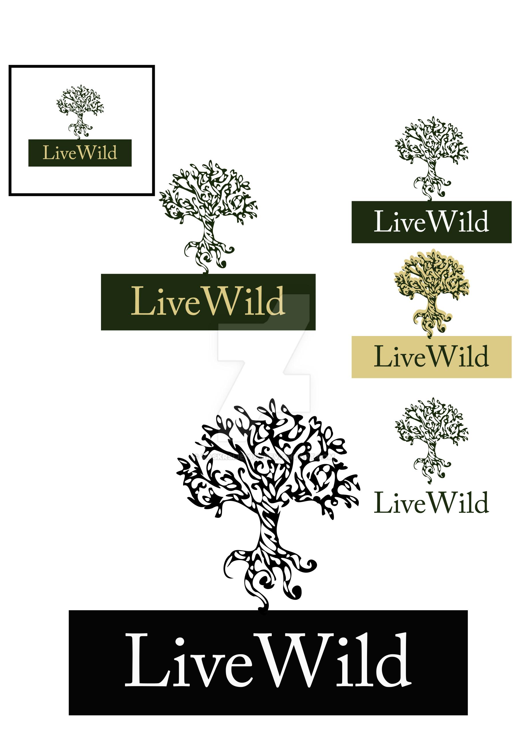 Livewild logo by Vaskrsije1978