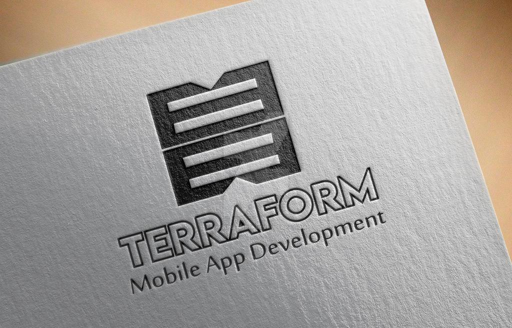 Logo Mockup  terraform by Vaskrsije1978