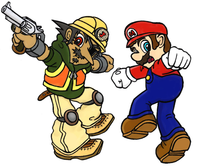 Limpurtikles Mario Colored: Mario And Jorge Colored By Anti-tanX On DeviantArt