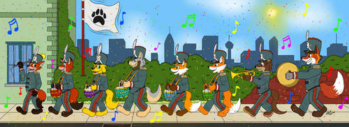 Victorian Military Parade gift art by R101D