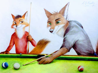 Pool Hall Days