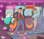 Tess and Kit jr's arcade adventure