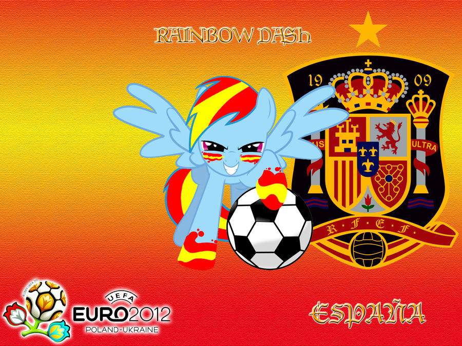 Wallpaper Rainbow Dash Spanish Selection by LightDegel