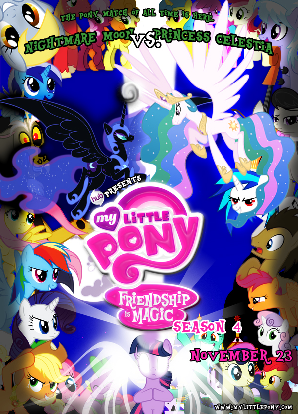 my little pony season 4 poster by lightdegel on deviantart