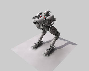 Crab Experimental Mech WIP by eRe4s3r