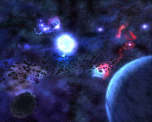 Solitude in Space - Scene by eRe4s3r