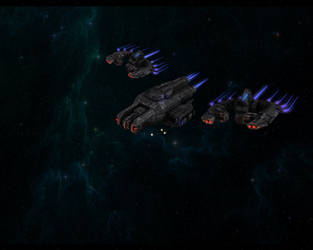 Space Escort Trials View 2 by eRe4s3r