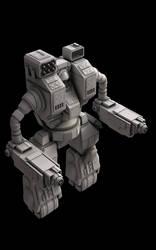 Loki Battlemech - ReRender by eRe4s3r