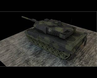 Leopard 2a6 View 2 by eRe4s3r