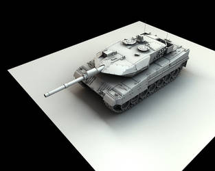 Leopard 2A6 No Texture MK2 by eRe4s3r