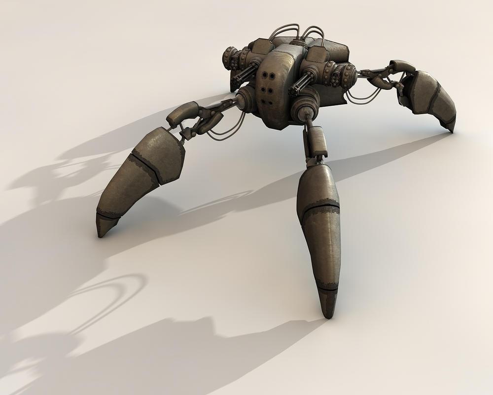 Grappler Mech MK3 by eRe4s3r
