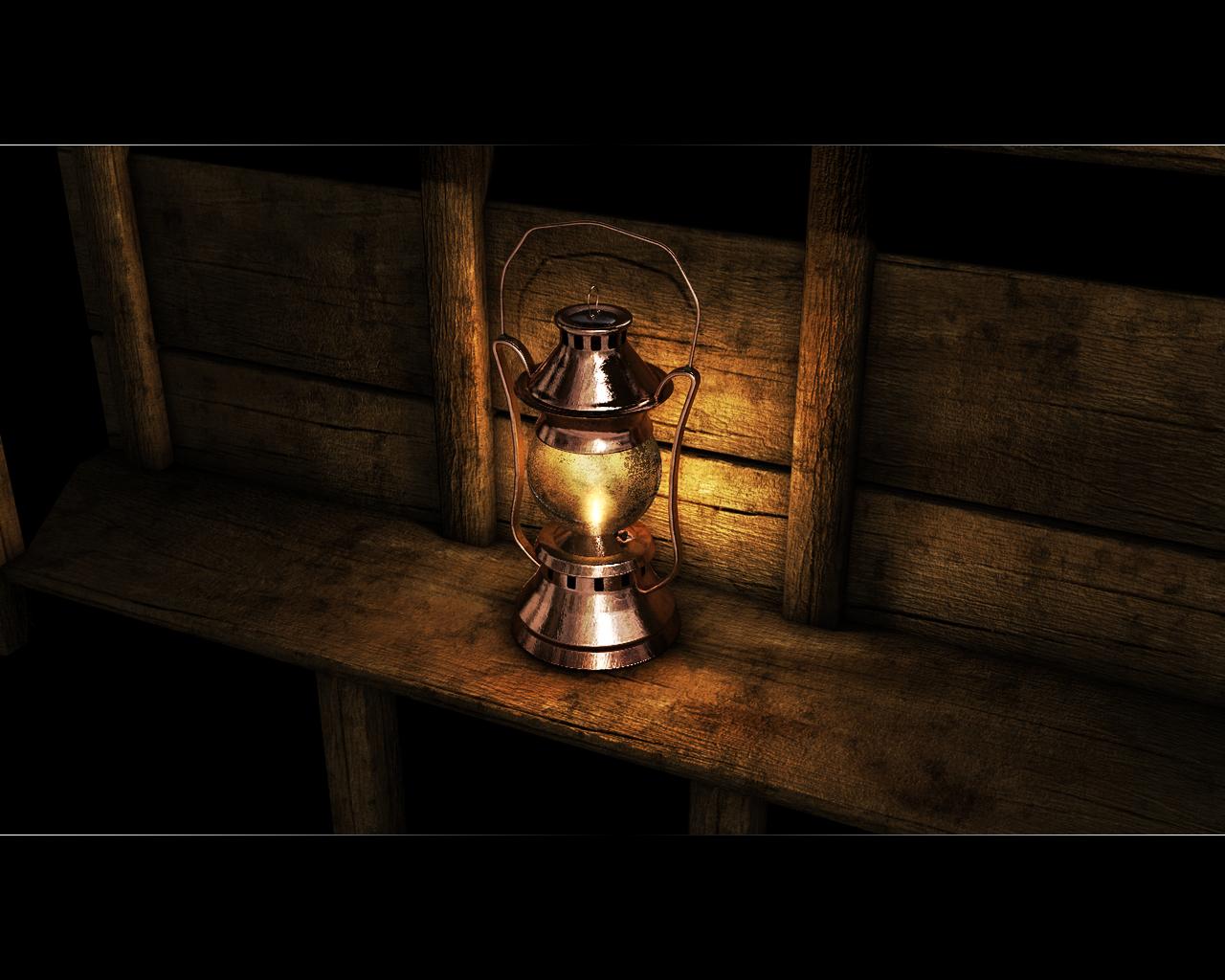 Oily Dependency - Lamp rev 2