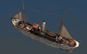 Fishing Trawler 1920 View 2 by eRe4s3r