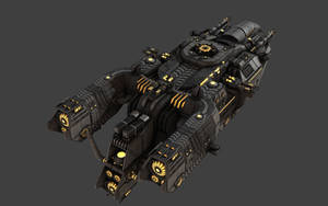 Space Frigate View 2 by eRe4s3r