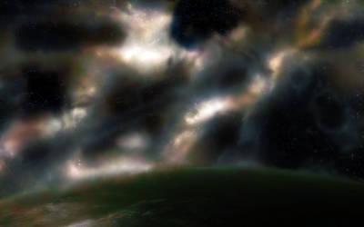 Spacescape without Blurrrrr
