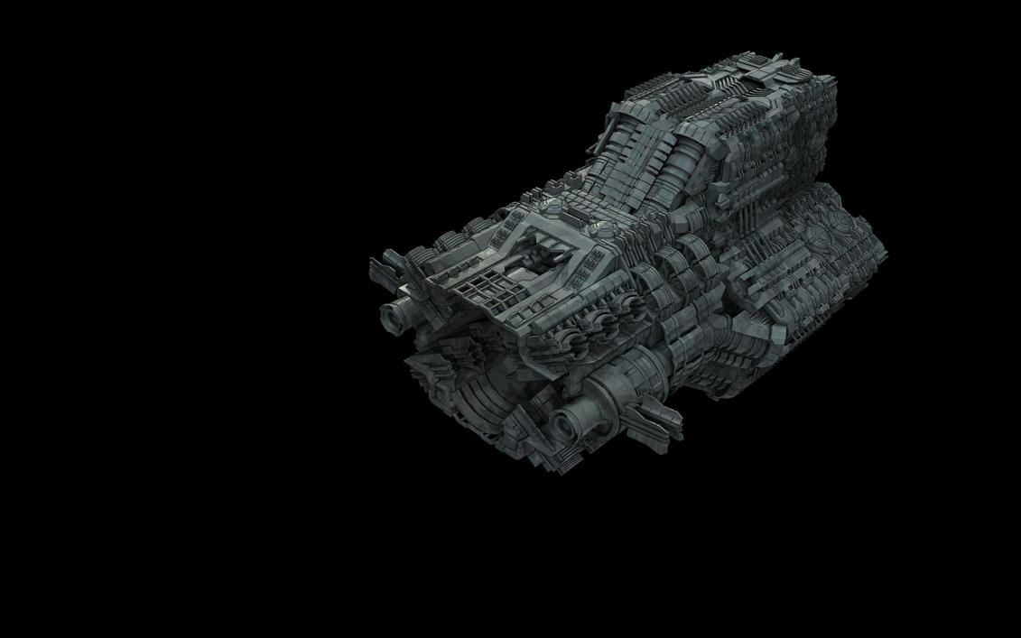 Actual Spaceship Wip 2.5 by eRe4s3r