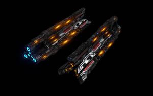 Battleship 'Triage' - Low Poly