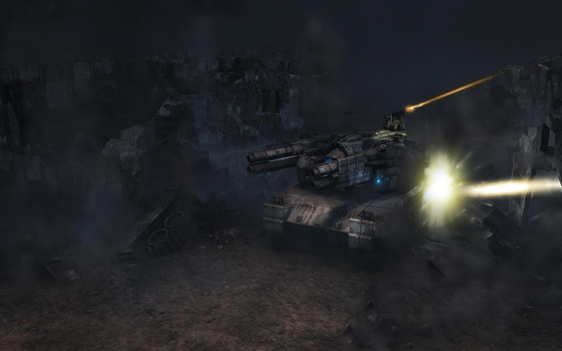 Heavy Float under Fire - MK2 by eRe4s3r