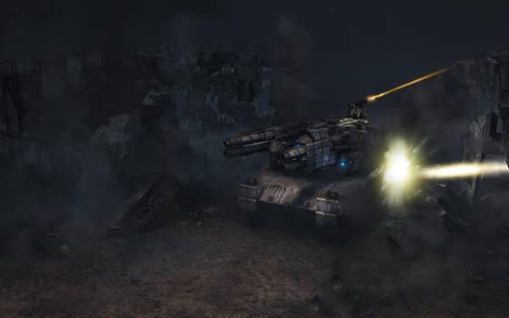 Heavy Float under Fire - MK2
