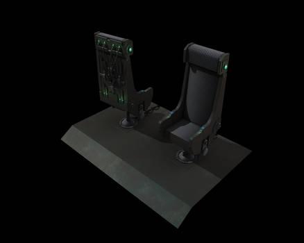 Tech Chair - GITS inspired