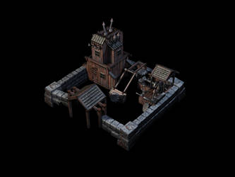 Low-Poly Mill Game-Model by eRe4s3r